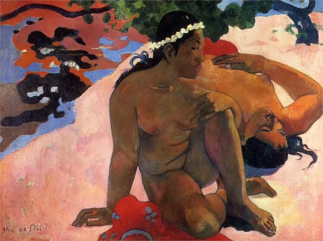 Are you jealous?, 1892 by Paul Gauguin