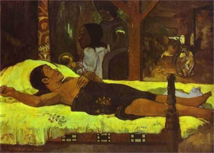 Nativity, 1896 by Paul Gauguin