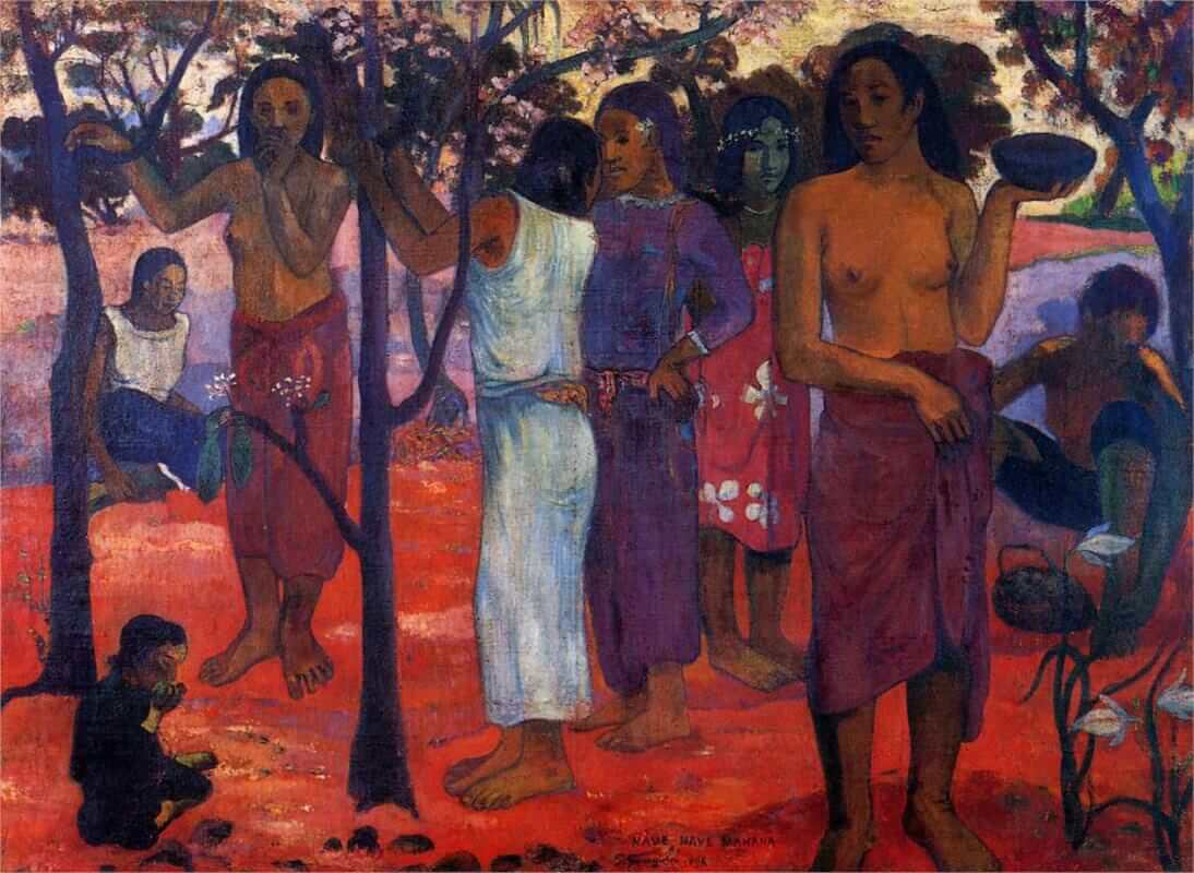 Perfect Days, 1896 by Paul Gauguin