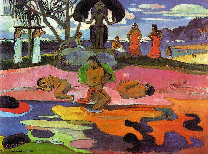 The Day of the God, 1894 by Paul Gauguin