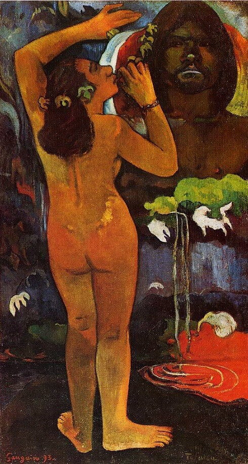 The Moon and the Earth, 1893 by Paul Gauguin