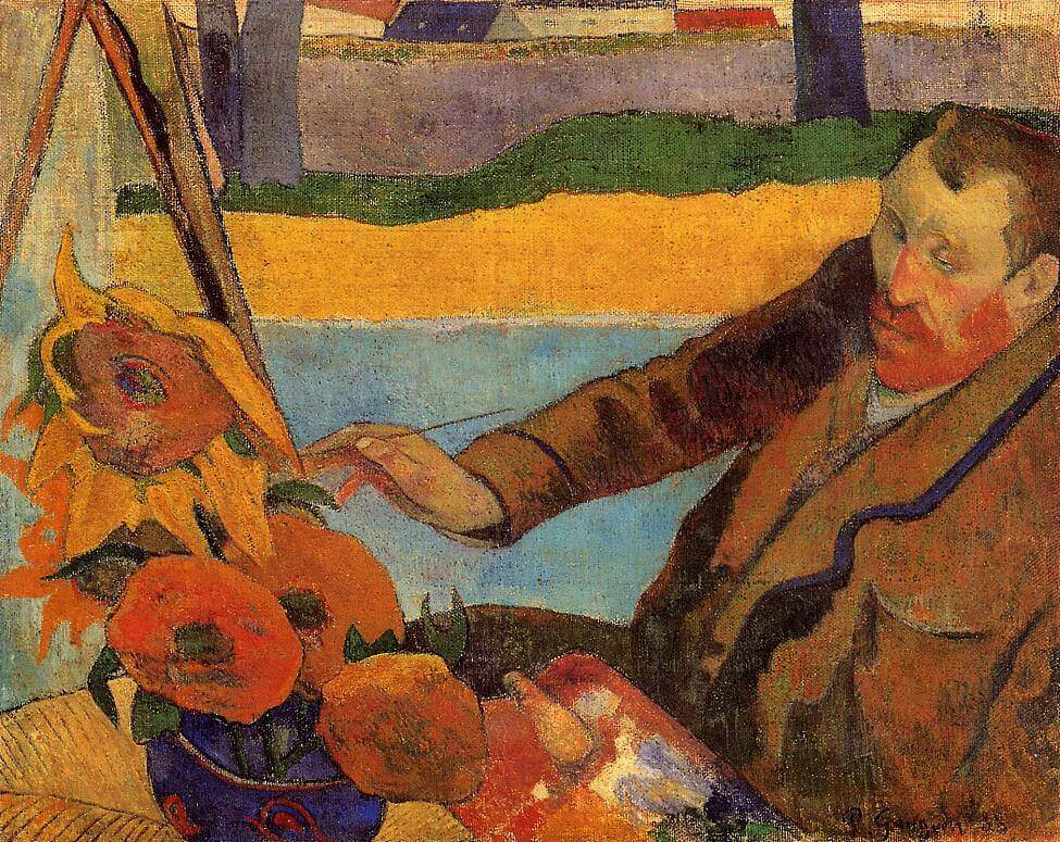 The Painter of Sunflowers, 1888 by Paul Gauguin