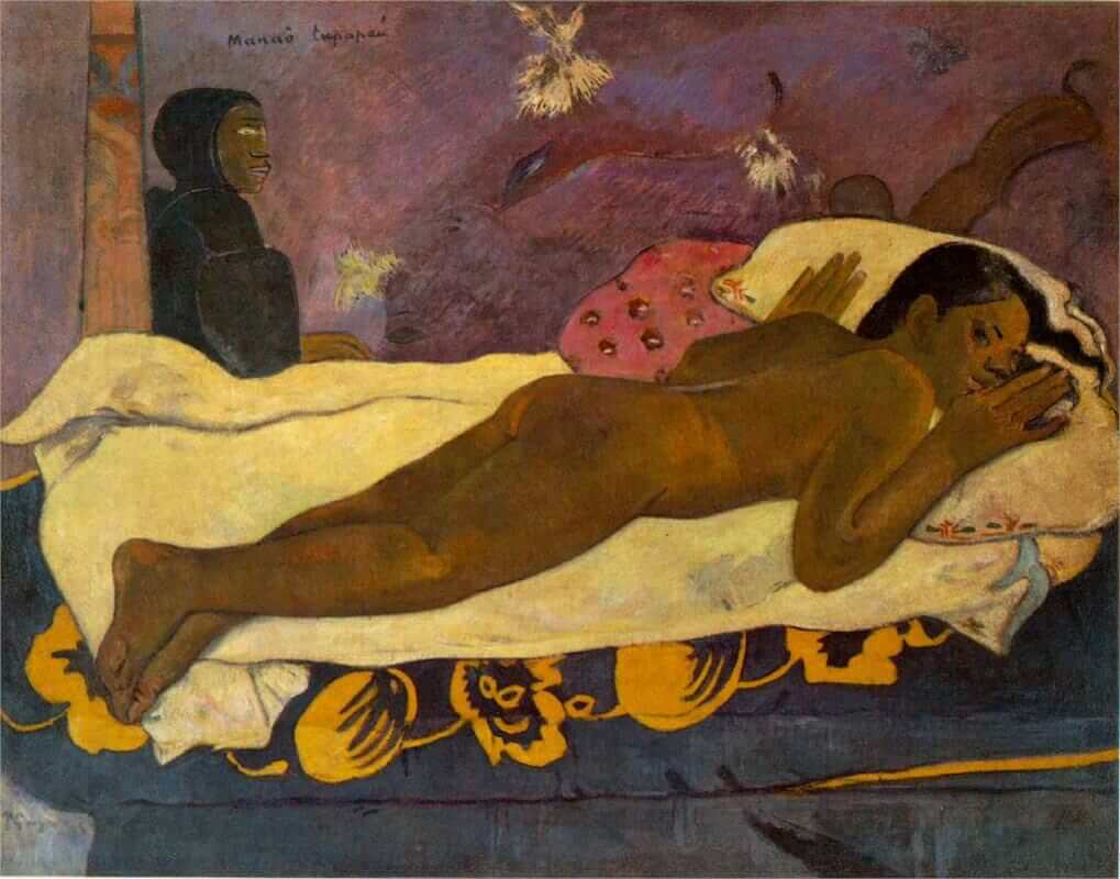The Spirit of the Dead Watches, 1892 by Paul Gauguin