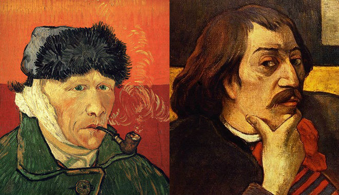 Vincent van Gogh and Paul Gauguin